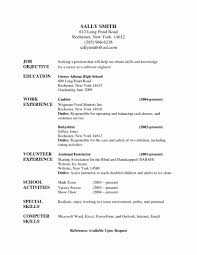 Best Of Nanny Housekeeper Sample Resume Objective Cover Cv Example
