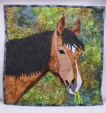Horse Quilt Pattern Enchanting Quarter Horse Quilt Pattern By QuiltsbyNanc Pattern Pattern Book