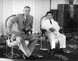 Image result for images of johnson and ngo dinh diem