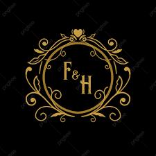 Wedding Name Logo Frame Wedding Wedding Card Wedding