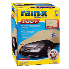 Details About Rain X Luxury Car Cover Water Resistant Vehicle Auto Uv Dust Protector Large