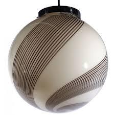 venini glass globe pendant light 1 500