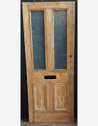 half glazed victorian panel door with collection mouldings