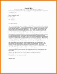 Pharmacist Cover Letter 24 Cover Letter Sample Pharmacist Retail Hostess Resume 13