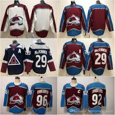 Colorado avalanche fan gear, colorado avalanche jerseys & apparel. 2021 2019 New Mens Colorado Avalanche Jersey 29 Nathan Mackinnon Cheap 92 Gabriel Landeskog 96 Mikko Rantanen High Quality Hockey Jerseys S 3xl From Superjerseyfactory 20 2 Dhgate Com