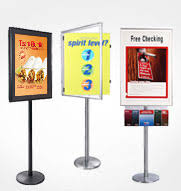 Portable Stands For Display Floor Stands Finest Selection Of Sign Holders Poster Stands 92
