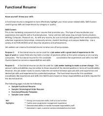 Functional Summary Resume Examples Functional Resume Examples Lovely