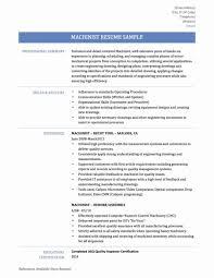 Resume Templates Machine Operator New January Breathtaking Printing
