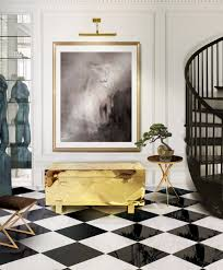 Black And White Flooring 10 Dreamy Interiors With Black And White Checkered Floor