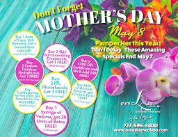 2016 mother s day specials hydras coolsculpting microneedling ipl