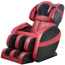 massage chair for car. kang shitan (kingsway) 838-3 massage chair massager home aged airbag electric classic red black for car y