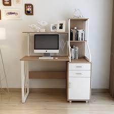 home office workstation. Wooden Computer Desk With Drawer For Home Office Workstation T