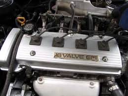 1996 7afe 4afe Toyota Corolla Engine rebuild 2015 Finished! - YouTube