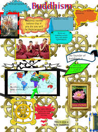 essay on buddhism in  cameron buddhism poster publish glogster