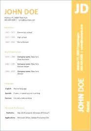 Resume Template Word Document | Nfcnbarroom.com