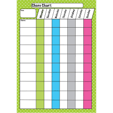 Classroom Chore Chart Die Cut Magnets Chore Chart