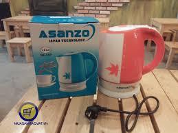 Bình đun nước siêu tốc asanzo SK-18P - MUA BÁN GIÁ SỈ