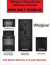 4 Piece Kitchen Appliance Set Whirlpool 4 Piece Kitchen Appliance Package 2928