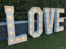 Wedding Love Lights Rightbiz Wedding Letter Hire Business For Sale 4ft Light