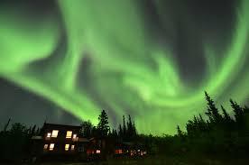 Yukon Lights Hours Yukon Winter Playground Northern Lights