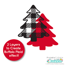You can copy, modify, distribute and perform the work, even for commercial. Free Buffalo Plaid Christmas Svg Clipart Set For Cricut Silhouette