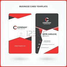 Free Double Sided Business Card Template Double Sided Business Cards