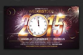 New Year Flyers Template 10 Best New Year Flyers For 2015 Premiumcoding