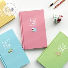 2019 365 Day Plan Weekly Day Planner Notebook School Diary 128 Sheets Paper Agenda Planner Organizer Office School Supplies Gift From Huayama 35 26