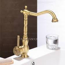 new arrival rotate brass antique bronze kitchen sink faucets