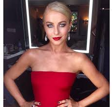 julianne hough s red lip on dwts y makeup look for semifinals