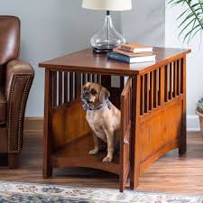 furniture pet crate. Dog House Furniture End Table Pet Crate Kennel Cage Wooden Wood Small Home