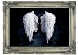 banksy angel wings wall murals