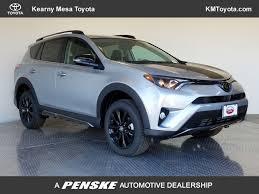 New 2018 Toyota RAV4 Adventure AWD SUV at Kearny Mesa Toyota ...