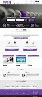 Moxie Web Design Upmarket Professional Business Consultant Web Design For