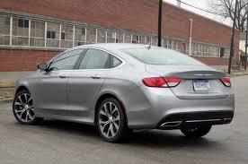 2015 Chrysler 200 3.6L V6 295HP $25K-$33K
