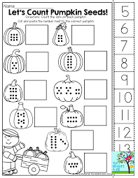 Count Cut And Paste Tons Of Fun Math Kindergarten Worksheets ...