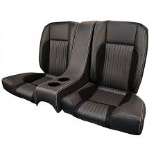 1968 69 mustang standard deluxe sport r rear seat with center console kit