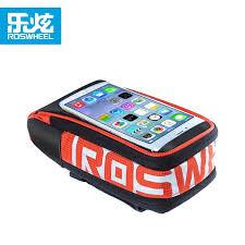 Roswheel <b>bike handlebar</b> phone <b>bag</b>   <b>Mountain bike bag</b>, <b>Bike</b> ...