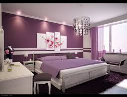 Purple Color Paint For Bedroom Apartment Bedroom Minimalist Design With Purple Color Neoteric And