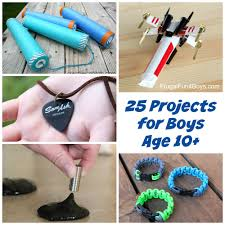25 awesome projects for boys age 10