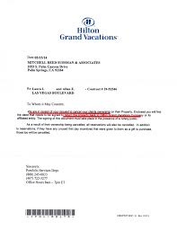 hilton grand vacations timeshare cancellation letter letter of contract cancellation