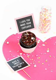 Free Printable Valentine Cupcake Toppers Mini Letterboards