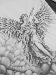 Angel Sketch Angel Sketch By Wynand Du Plooy