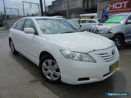 toyota camry 2007 white. nice toyota camry 2007 altise white automatic a sedan