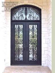 european collection french doors with transom square top