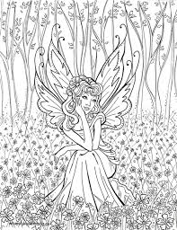 Small Picture Hard Colouring Pages New Fairy