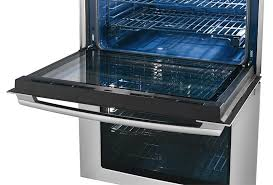 electrolux 27 electric double wall oven with wave touch reg controls