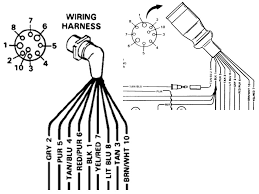 mercruiser wiring pigtail question page 1 iboats boating forums marine engine wiring harness at Mercruiser Wiring Harness