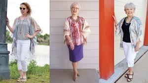fashion trend for women over 60