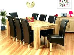 table and 8 chairs dining